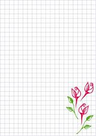 Free Blank Greeting Card Templates Adorable Vector Floral Blank For Letter Or Greeting Card Checkered Paper