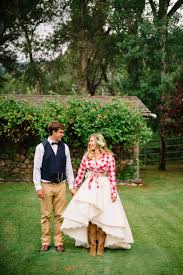 The Final Look Whimsical Western Wedding Rivini Martini Dress Western Wedding
