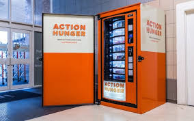 Vending Machines Manchester Custom UK's First Vending Machine For The Homeless Installed In Nottingham