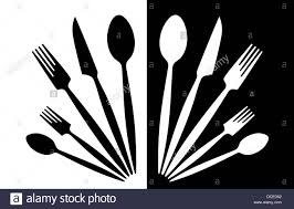 cooking clipart black and white. Delighful Clipart Cutlery  Stock Image And Cooking Clipart Black White