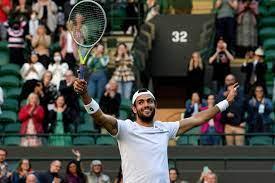 Berrettini fa la storia: è in semifinale a Wimbledon 61 anni dopo  Pietrangeli - Giornale di Sicilia