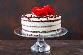 slice of birthday cake red velvet. Perfect Red How To Make Red Velvet Cake In Slice Of Birthday Cake Red Velvet