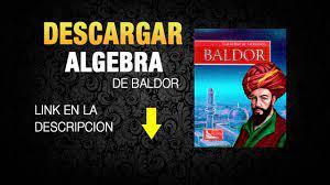 Baldor is one of the algebra most commonly used by. Algebra De Baldor 2015 Descargar Gratis Por Mega On Vimeo