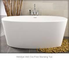 maax freestanding tubs wetstyle wet ove free standing bath tub bov01 62 bov0166 maax freestanding tubs