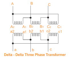 v phase transformer wiring diagram wiring diagram single phase transformers connected in delta