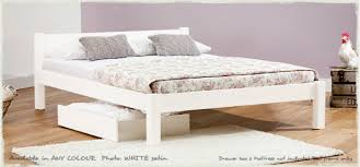 simple white bed frame. Modren Simple White Knight Bed  Handmade Wooden Frames By Get Laid Beds In Simple Frame