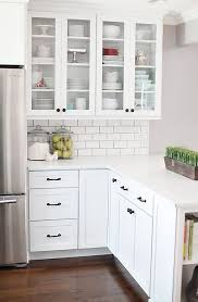 ... Awesome To Do Kitchen Glass Cabinets Best 25 Ideas On Pinterest ...