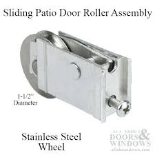 sliding glass door replacement wheels wheel parts extruded roller assembly stainless