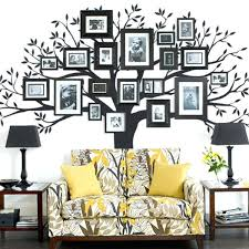 wall frame ideas creative family tree frame wall decals wall frame ideas for living room