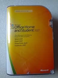 Brown Microsoft Office Microsoft Office Home And Student 2007 Original For Sale Other