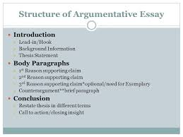 Organization of Essay