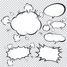 Photoshop Speech Bubble Comic Speech Bubble Cartoon Stock Vector Colourbox