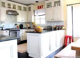 Pictures Of Cabinets Above Kitchen Sink Kitchen Appliances Tips