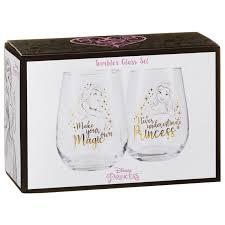 337239 disney tumbler glass set princess 2
