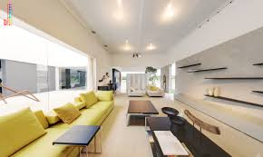 home ambient lighting. Bright Modular Lounge With Coffee And Trat Tables Ambient Lighting Home