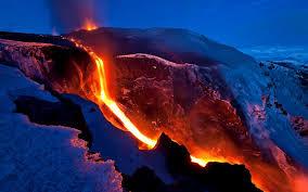 Resultado de imagen de Grandes corrientes de lava