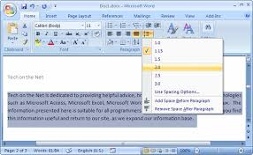 how to double space an essay in ms word quora click on it and select 2 0