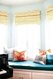 outside mount roman shades. Outside Mount Roman Shades White Yellow Shade In Living Room With Green Seat Wood Window Photos U