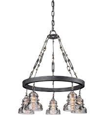 troy lighting menlo park chandelier undefined