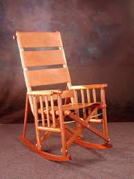 costa rican folding rocking chair rocking chair high back natural leather and wood rocking chair with