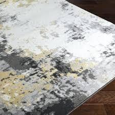 yellow and gray rug charcoal mustard yellow grey area rug