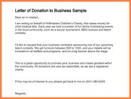 11+ Sample Of Donation Letters | Corpus Beat