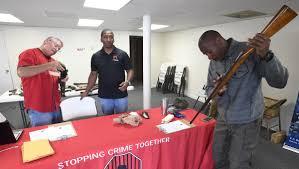 CrimeStoppers hold gun buy back