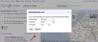 Trip Planner Gas Cost European Vacation Cost Calculator Myvacationplan Org