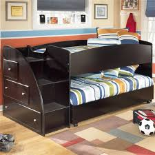 bunk bed with trundle and stairs. Simple Bunk Twin Bunk Beds With Stairs For Boy To Bed Trundle And I