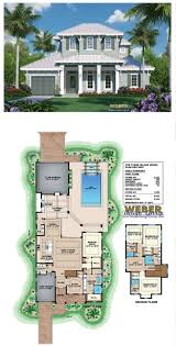 1 1 2 story home plans elegant 60 best waterfront house plans images on