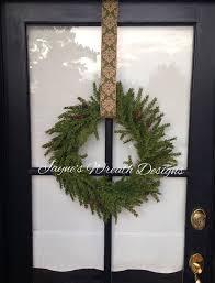 Wreaths By Design Walker La Beautiful Natural Hemlock Wreath Great For Christmas