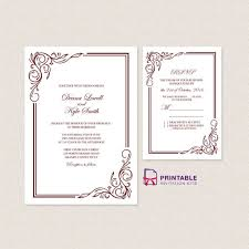Easy Invitation Templates 27 Amazing Photo Of Free Wedding Invitations Regiosfera Com