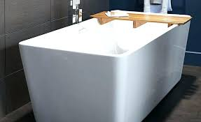 deep soaking tub alcove bathtubs freestanding modern rectangular bathtub with laminated tray and extra best deep soaking tub