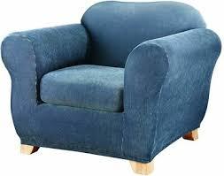 sure fit stretch stripe 2 piece chair