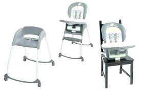 Wood High Chair 3 In 1 Baby Convertible Play Table Graco Highchair Chairs