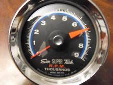 sun super tach parts accessories vintage sun super tach 9000 rpm sst 709 dated 1968 works great