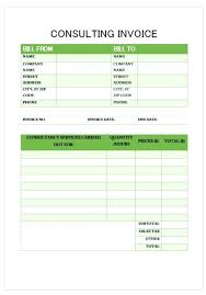 Sample Invoice For Consulting Services Services Invoice Template For Consulting Sample Free Scsllc Co