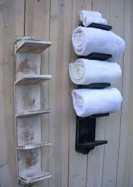 exotic wall mounted towel racks for bathrooms bathroom towel shelves wall mounted best storage for plan