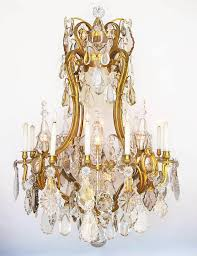 the spelling manor living room chandelier from the former home of aaron candy spelling a very fine and palatial french 19th century louis xv style