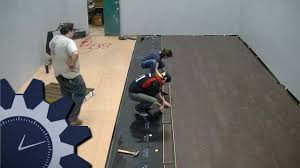 laying armstrong commercial laminate flooring in studio a abbreviated workday 11 you