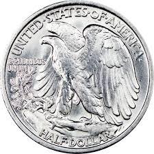 1935 Silver Half Dollar Value Chart 1935 50c Ms Walking Liberty Half Dollars Ngc