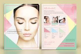 Eyelash Eyebrow Salon Flyer Design Nv Graphic Design