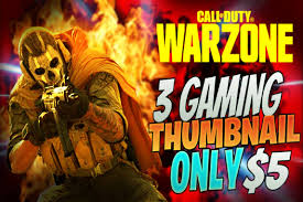 This is a roblox montage of a song name roxanne!!! Design Call Of Duty Warzone Warfare Cold War Gaming Thumbnail By Prince2ks