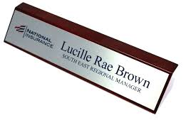 Office Name Plate Template Office Name Signs Template