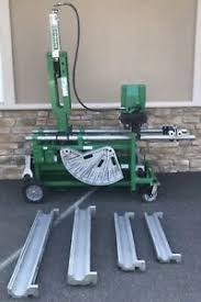 Greenlee 881 Table Bender Chart Details About Greenlee 881ct Pipe Bender W 980 Hydraulic Pump On Mobile Bending Table Mbt 881