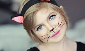 if you re good at makeup or painting use your creativity and turn your kid into cat