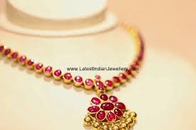 single row ruby necklace ruby