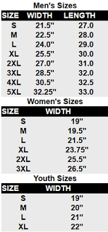 Polo Sweatpants Size Chart Size Charts Thrasher Sports Apparel