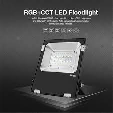 futt04 20w rgb cct led floodlight 2 4g remote wifi wireless control led spotlight outdoor