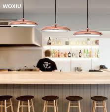 modern home office decor s woxiu led nordic postmodern minimalist restaurant chandelier creative personality cafe